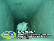Commercial air duct cleaning Michigan