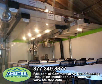 Amistee Air Duct Cleaning Training Facility