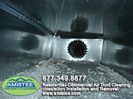 Drywall Dust Air Duct Cleaning before